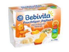 Bebivita Fruchtiger Joghurt Pfirsich Banane Maracuja