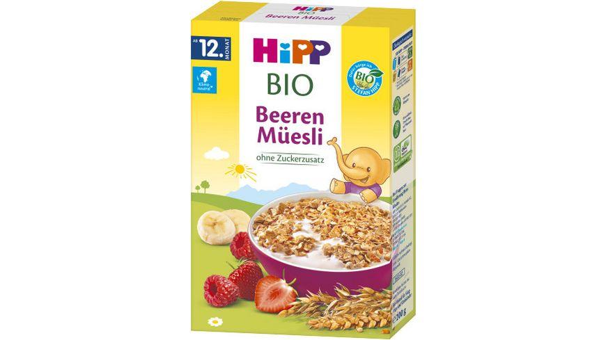 HiPP Bio Mueesli Kinder Beeren Mueesli