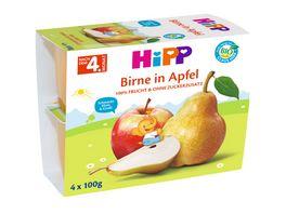 HiPP Fruechte im Becher Birne in Apfel