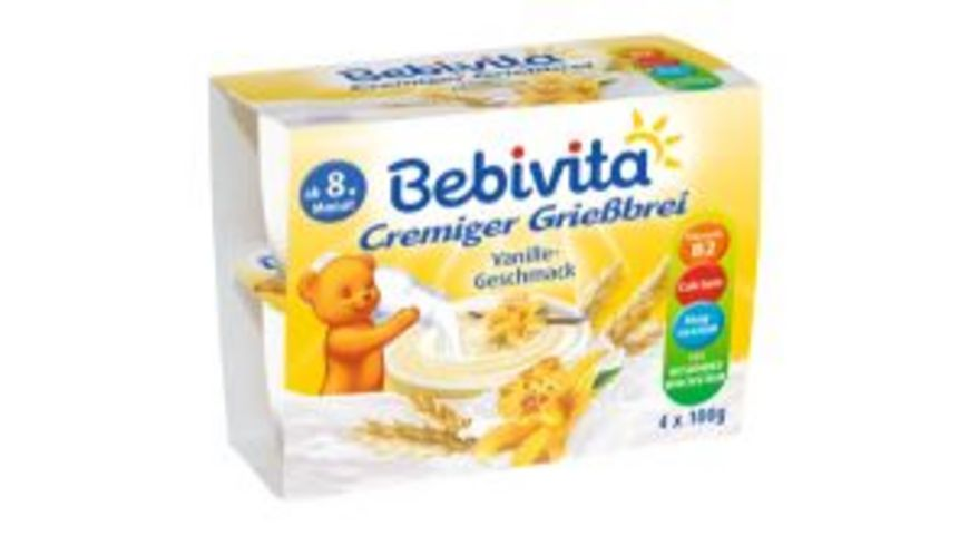 Bebivita Griessbrei Vanille Geschmack