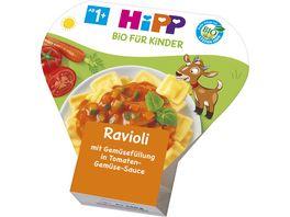 HiPP Kinder Bio Ravioli Ravioli mit Tomaten Gemuese Sauce
