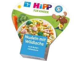 HiPP Beikost Nudeln mit Wildlachs in Kraeuterrahmsauce