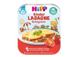 HiPP Beikost Pasta im ganzen Stueck Lasagne Bolognese
