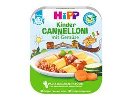 HiPP Schalenmenues Ristorante La Mamma Cannelloni mit Gemuese 250 g 1 3 Jahre