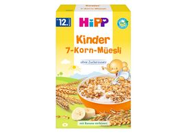 HiPP Bio Mueesli Kinder 7 Korn Muesli