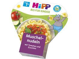 HiPP Kinder Bio Pasta Muschelnudeln mit Tomaten und Zucchini