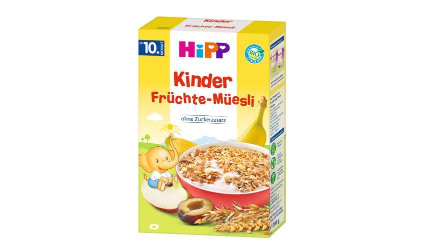 HiPP Bio Mueesli Kinder Fruechte Mueesli
