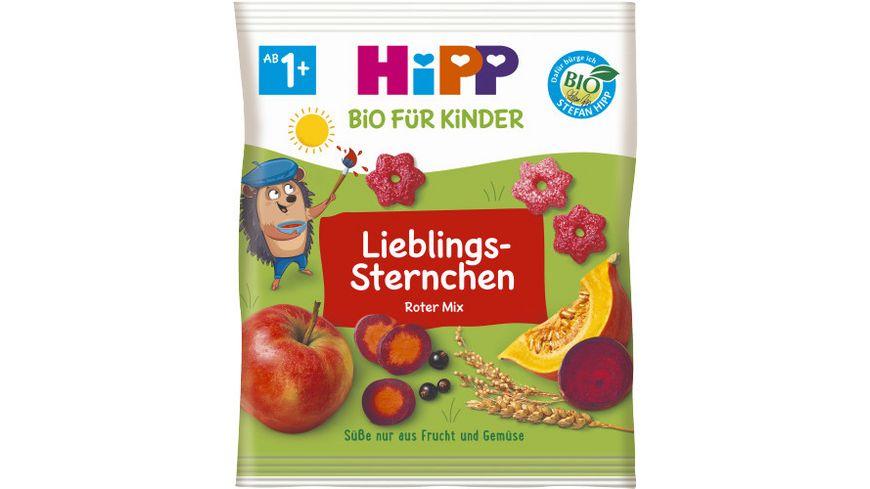 HiPP Knabberprodukte Knabber Sternchen mit Gemuese