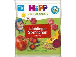 HiPP Bio fuer Kinder Liebling Sternchen Roter Mix Suesse nur aus Frucht und Gemuese 30g