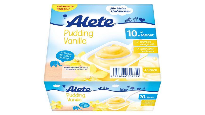 Alete Pudding Vanille