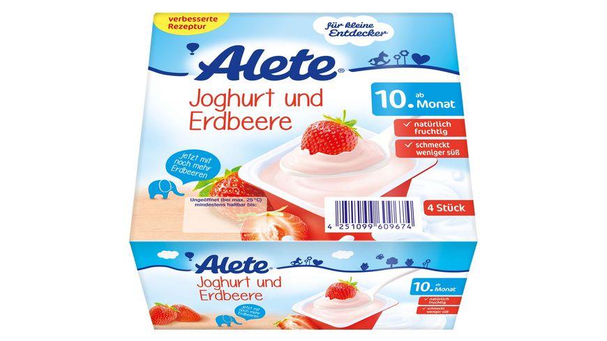 Alete Joghurt und Erdbeere