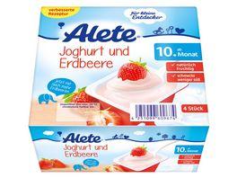 Alete Beikost Joghurt und Erdbeere