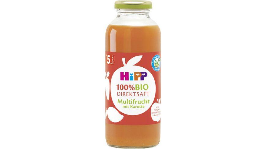 HiPP 100 Bio Saefte Fruechte Karotte