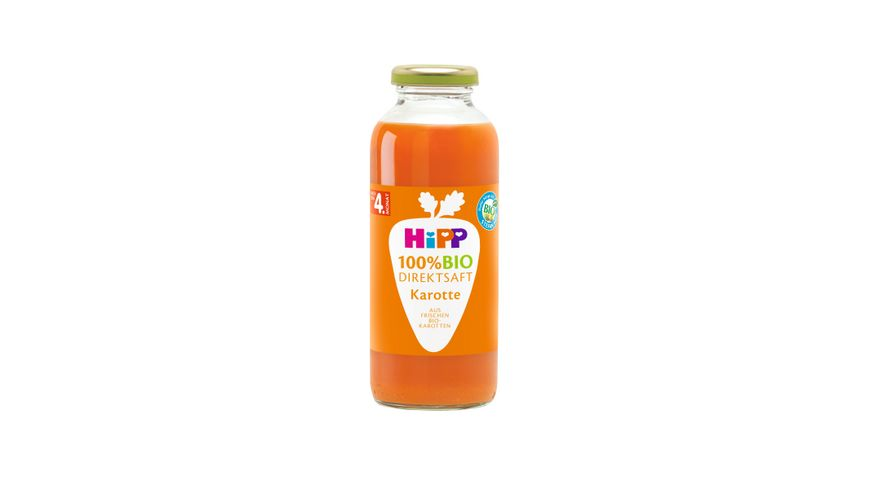 HiPP 100 Bio Saefte Fruechte Karotte Reine Karotte