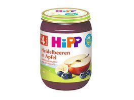 HiPP Fruechte Heidelbeeren in Apfel