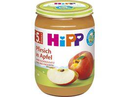 HiPP Fruechte Pfirsich in Apfel