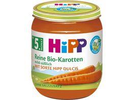 HiPP Babyglaeschen Reine Frueh Karotten