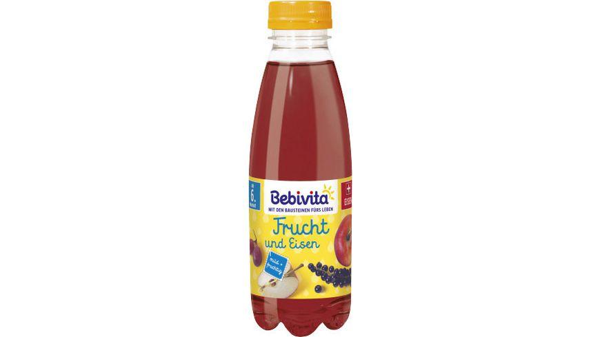 Bebivita Fruchtsaft-Getränke 0,5l - PET-Falsche: Frucht und Eisen, ab 6. Monat