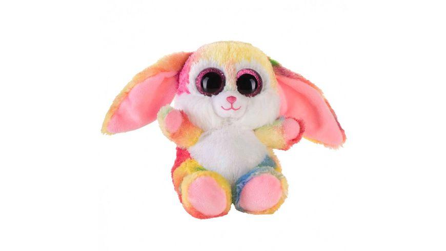 Bauer Blickfaenger und Glitter Hase pink bunt 15cm