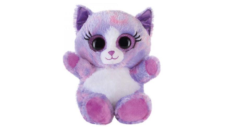 Bauer - Blickfänger und Glitter - Lashy Katze lila 15cm