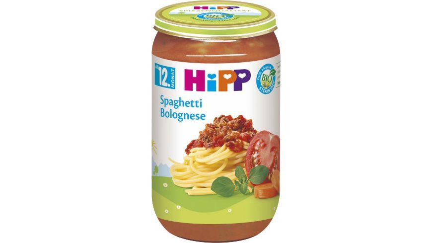 HiPP Menüs 250g: Spaghetti Bolognese, ab 12. Monat