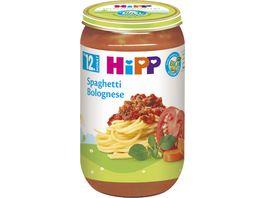 HiPP Menues ab 12 Monat Spaghetti Bolognese