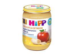 HiPP Babyglaeschen Brei Apfel Bananen Mueesli