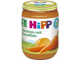 HiPP Babyglaeschen Frueh Karotten mit Kartoffeln