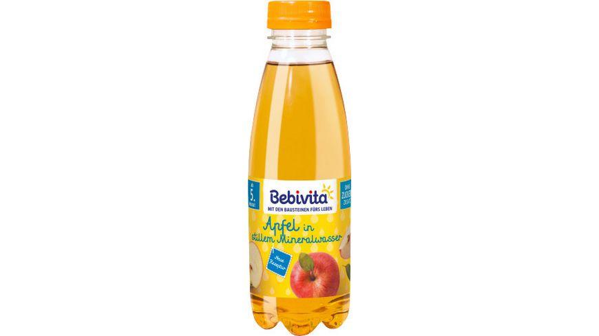 Bebivita Saft Mineralwasser Apfelsaft mit Mineralwasser PET Flasche