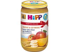 HiPP Babyglaeschen Brei Feiner Obst Brei mit Vollkorn