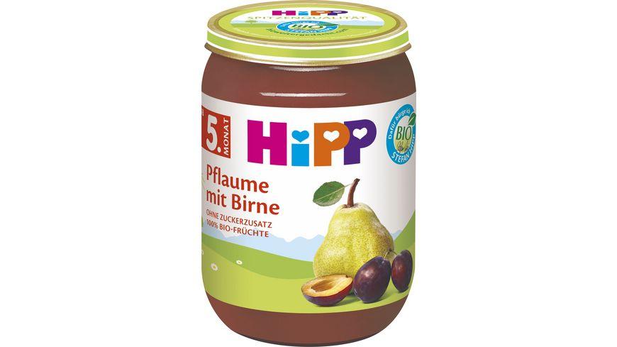 HiPP Fruechte Pflaume mit Birne