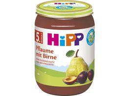 HiPP Babyglaeschen Fruchtbrei Pflaume mit Birne