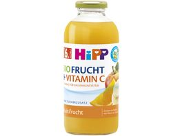HiPP BIO Fruchtsaft und Vitamin C 0 5l Multifrucht ohne Zuckerzusatz ab 6 Monat