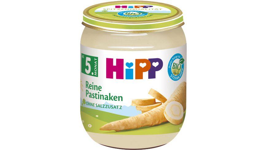 HiPP Bio Gemüse, Reine Pastinaken, ohne Salzzusatz, 125g