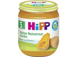HiPP Babyglaeschen Kuerbis