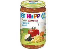 HiPP Menues ab 12 Monat Pasta Bambini Rigatoni Napoli