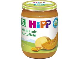 HiPP Babyglaeschen Kuerbis mit Kartoffeln