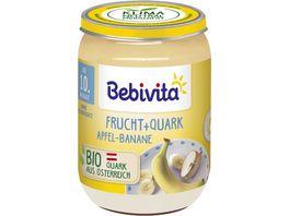 Bebivita Frucht Joghurt Quark DUO Apfel Banane Quark