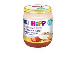 HiPP Guten Morgen Erdbeere in Apfel Joghurt Muesli
