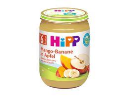 Hipp Fruechte Mange Banane in Apfel 190 g ab dem 6 Monat