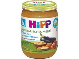HiPP Menues ab 6 Monat Couscous Gemuese Pfanne