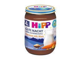 HiPP Gute Nacht ohne Zuckerzusatz Karotten mit Mais