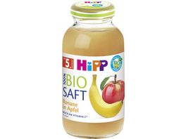 HiPP 100 Bio Saefte Banane in Apfel 0 2l