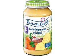 Beauty Baby Bio Kartoffelgemuese mit Rind