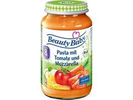 Beauty Baby Bio Pasta mit Tomate und Mozzarella