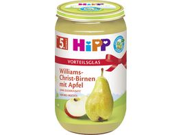 HiPP Fruechte Williams Christ Birnen mit Apfel