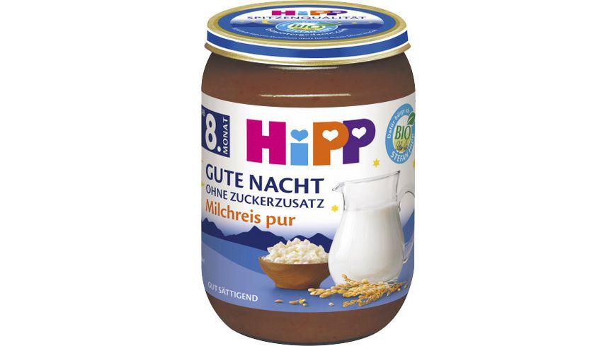 HiPP Gute Nacht ohne Zuckerzusatz Milchreis pur