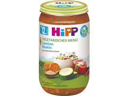 HiPP Menues ab 12 Monat Gemuese Risotto