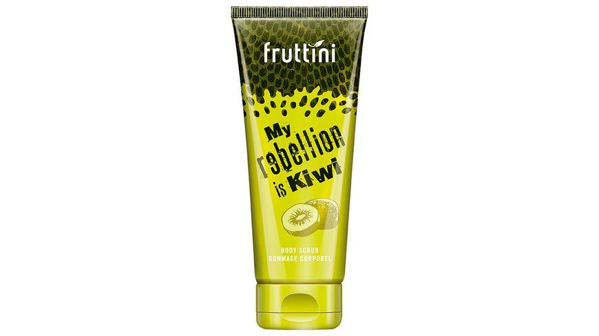 fruttini Body Scrub REBEL Kiwi