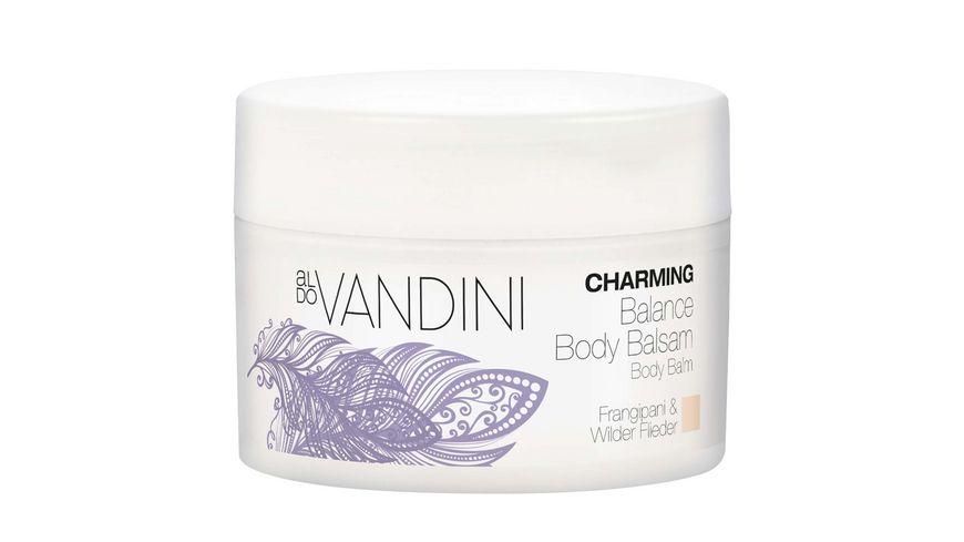 aldo VANDINI CHARMING Balance Body Balsam Frangipani Wilder Flieder